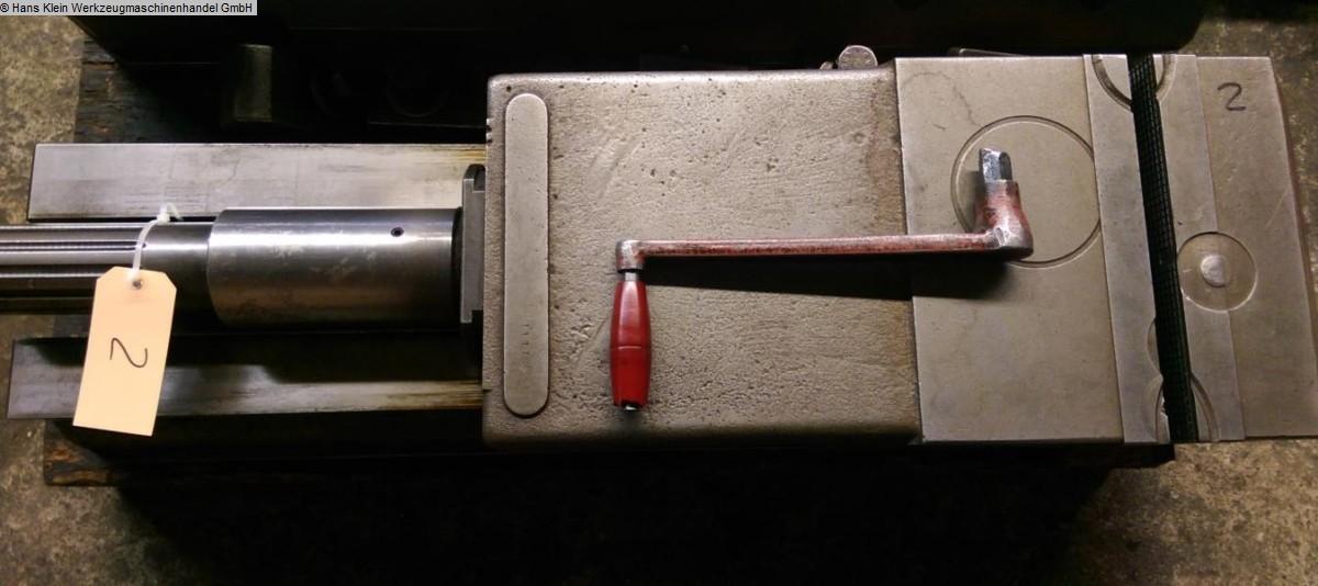 gebrauchte Maschinenzubehör etc. Schraubstock