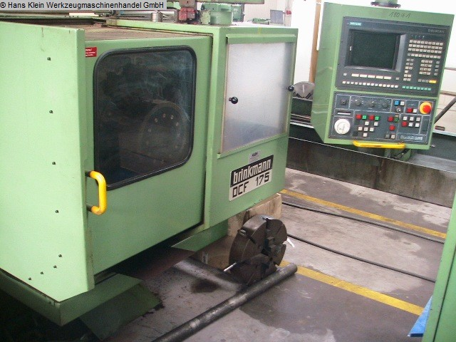 gebrauchte Metallbearbeitungsmaschinen CNC Drehmaschine BRINKMANN DCF 175