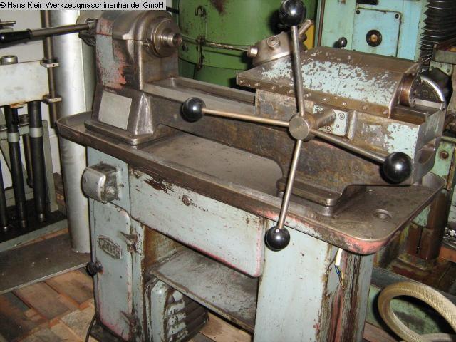 gebrauchte Metallbearbeitungsmaschinen Nachdrehbank WEILER