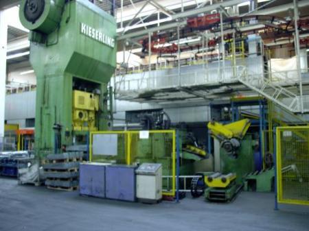 gebrauchte Pressen und Bördelmaschinen Doppelständer - Ziehpresse - Mechanisch KIESERLING SKPN 800/2000