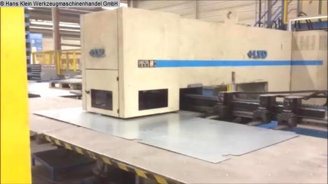 gebrauchte Blechbearbeitung / Scheren / Biegen / Richten Stanz- und Nibbelmaschine LVD DELTA 1500 LB-TK