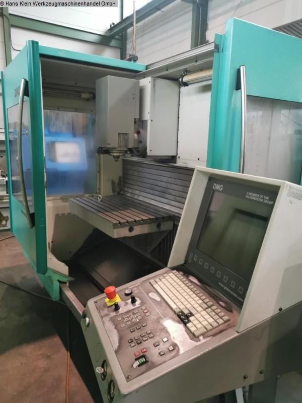 gebrauchte Fräsmaschinen Werkzeugfräsmaschine - Universal DECKEL-MAHO DMU 60 E