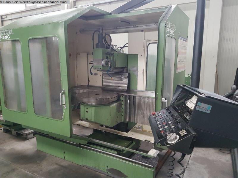 gebrauchte Fräsmaschinen Werkzeugfräsmaschine - Universal DECKEL FP 5 NC