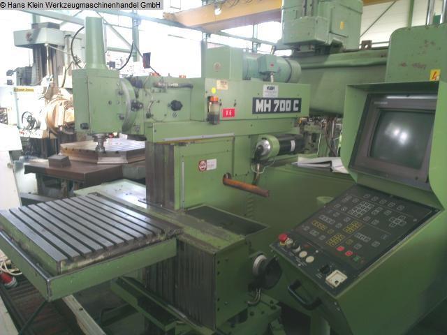 gebrauchte Fräsmaschinen Werkzeugfräsmaschine - Universal MAHO MH 700 C