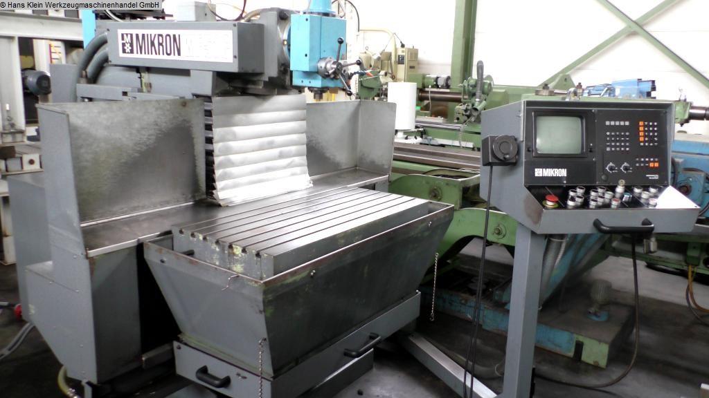 gebrauchte Fräsmaschinen Werkzeugfräsmaschine - Universal MIKRON WF 51 C