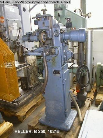 gebrauchte Werkzeugschleifmaschinen Sägeblattschärfmaschine HELLER B 250
