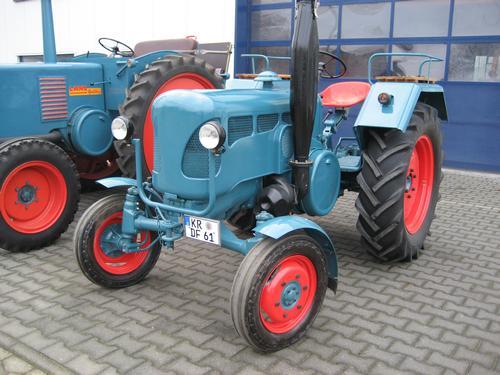 gebrauchte Maschine Traktor LANZ, Mannheim D 2416