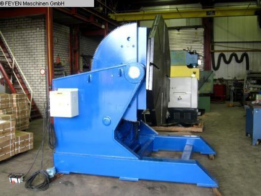 gebrauchte Maschine Schweißdrehtisch - rund WELDING HB-100