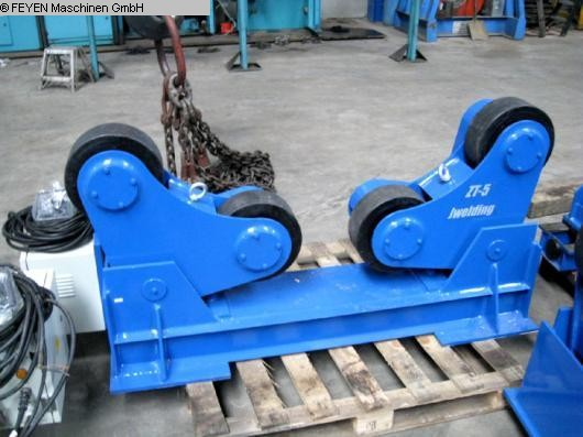 used Vessel Turning Unit WELDING ZT - 5