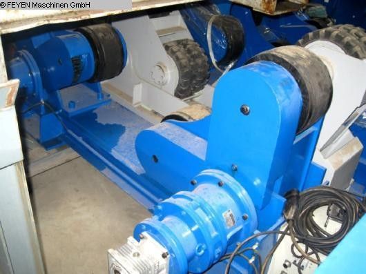 used Vessel Turning Unit WELDING ZT - 40