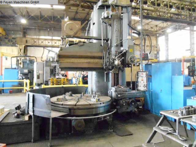 used Vertical Turret Lathe - Single Column BERTHIEZ 9340