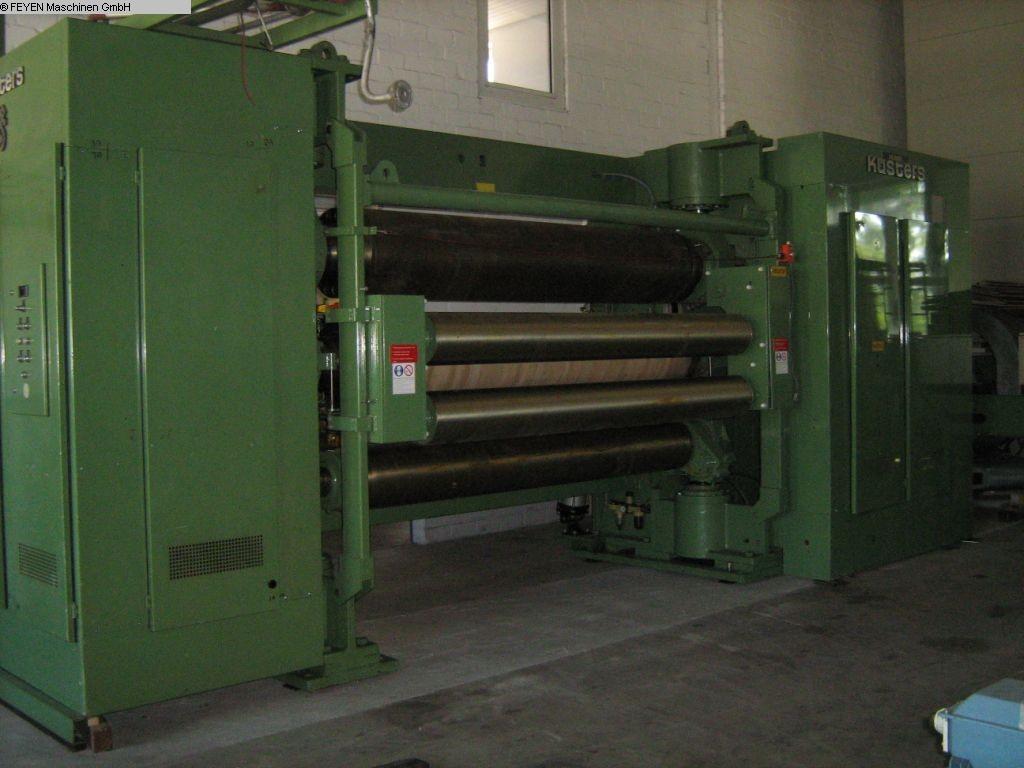 gebrauchte Maschine Thermobonding-Kalander KUESTERS, KREFELD 413.40 /2200