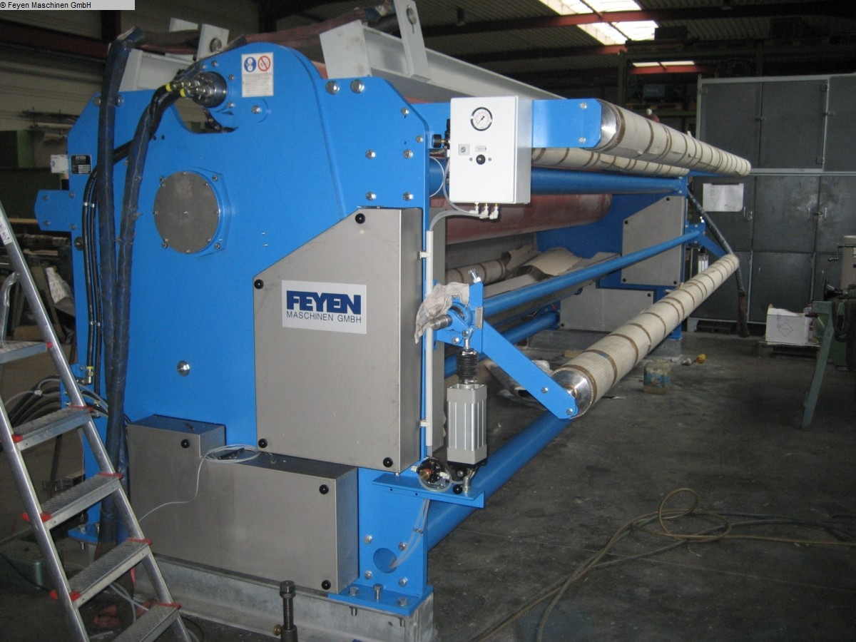 gebrauchte Maschine Appreturfoulard FEYEN KREFELD 222.54 / 5400