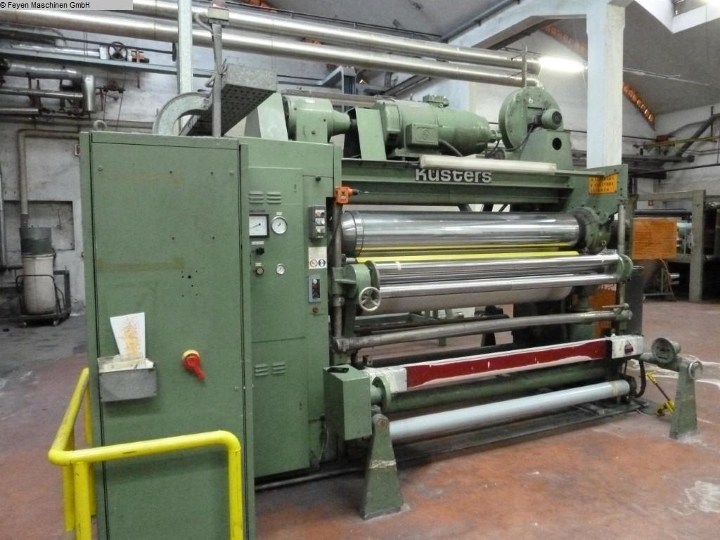 gebrauchte Maschine Roll-Kalander KUESTERS, KREFELD 212.40  / 1400