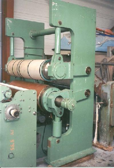 gebrauchte Maschine Roll-Kalander KUESTERS, KREFELD 212.20 / 1200 WOB