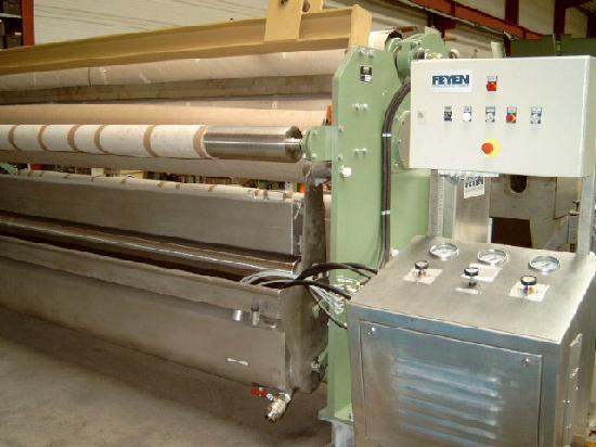 gebrauchte Maschine Appreturfoulard KUESTERS, KREFELD 222.54 / 4400