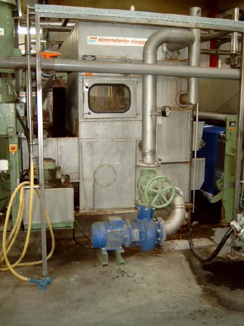 gebrauchte Maschine Waschanlage KUESTERS, KREFELD Waschanlage