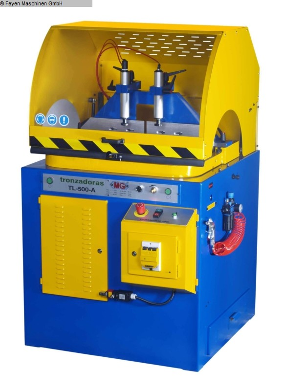 gebrauchte Maschine Alu-Kreissäge HUVEMA TL 500 AA
