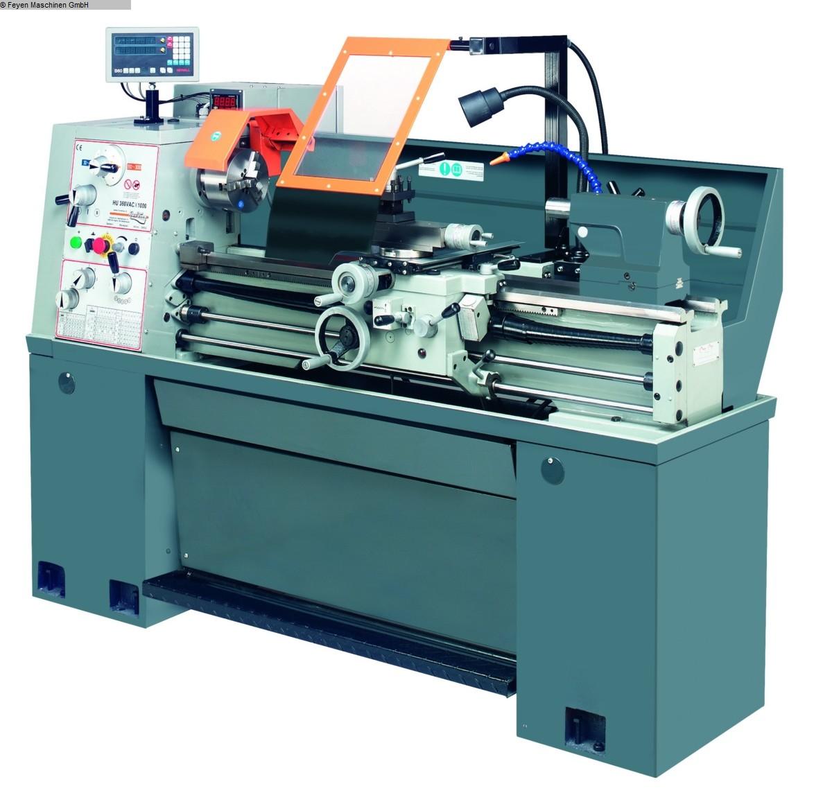 gebrauchte Maschine Mechanikerdrehbank HUVEMA HU 360x1000 VAC Topline