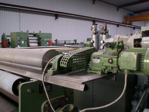 gebrauchte Ausrüstungsmaschinen Antragswerk KUESTERS, KREFELD 271.35 B / 1200