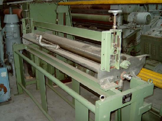 gebrauchte Ausrüstungsmaschinen Antragswerk KUESTERS, KREFELD 271.35 B / 1800