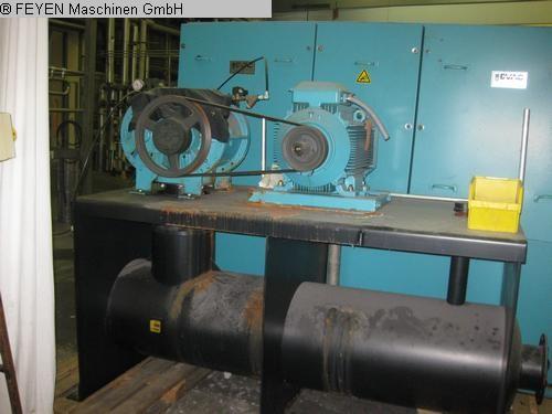 gebrauchte Ausrüstungsmaschinen Vacuum-Absauganlage KUESTERS, KREFELD EVAC-Sauge 990.21