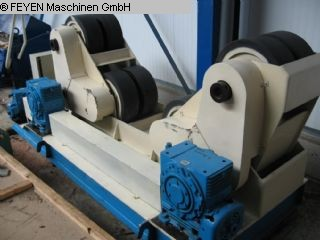 gebrauchte Blechbearbeitung / Scheren / Biegen / Richten Behälterdrehvorrichtung MPK 50