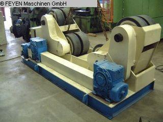 gebrauchte Blechbearbeitung / Scheren / Biegen / Richten Behälterdrehvorrichtung MPK 20