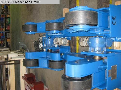 gebrauchte Blechbearbeitung / Scheren / Biegen / Richten Behälterdrehvorrichtung WELDING ZT - 10