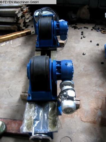 gebrauchte Blechbearbeitung / Scheren / Biegen / Richten Behälterdrehvorrichtung WELDING KTS - 10