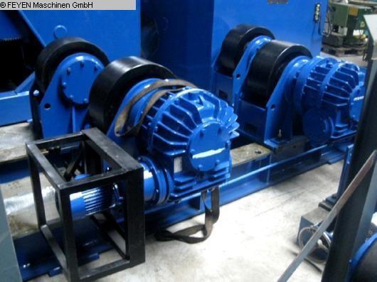 gebrauchte Blechbearbeitung / Scheren / Biegen / Richten Behälterdrehvorrichtung WELDING KTS - 80