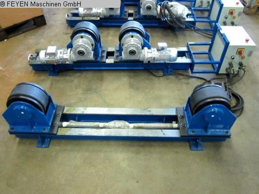gebrauchte Blechbearbeitung / Scheren / Biegen / Richten Behälterdrehvorrichtung WELDING KTS - 5