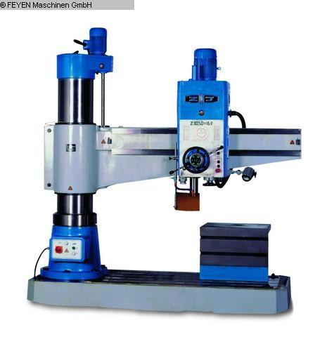 Mulinelli / Centri di lavoro / Foratura per trapano radiale usato HUVEMA CRDM 3050x16 / 1