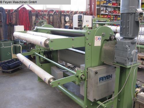 gebruikte Padder Dye Padder KUESTERS, KREFELD 222.58 / 1800