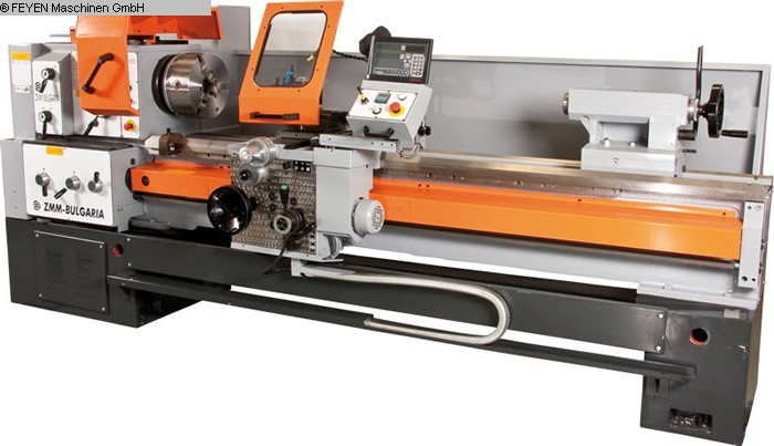 gebrauchte  Leit- und Zugspindeldrehmaschine HUVEMA CU 580M VAC x 1000