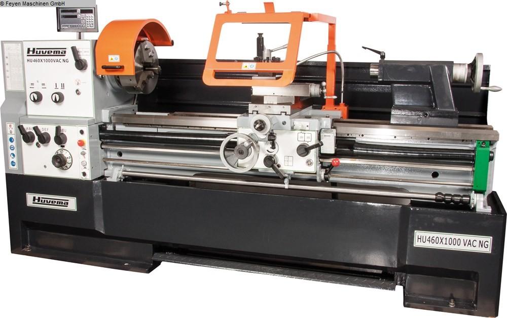 gebrauchte  Leit- und Zugspindeldrehmaschine HUVEMA HU 460 x 1000 VAC NG