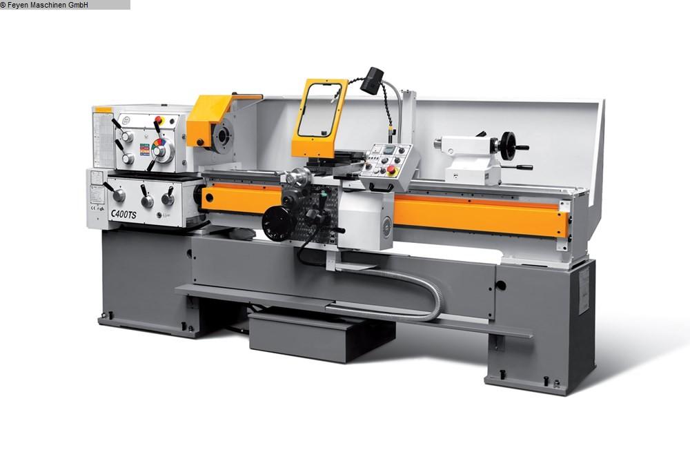 gebrauchte  Leit- und Zugspindeldrehmaschine HUVEMA C 400 x 1000 TS VAC