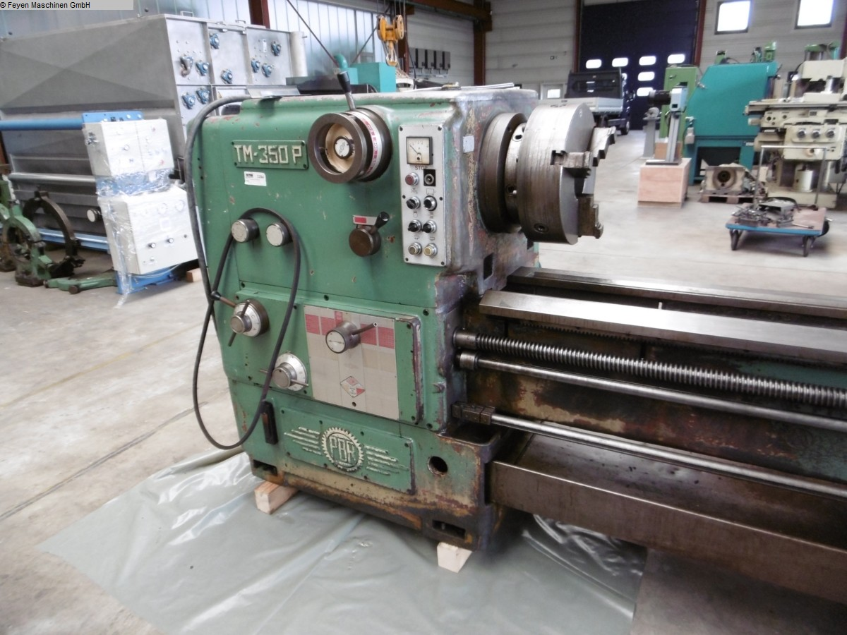 used Center Lathe PBR TM 350 P