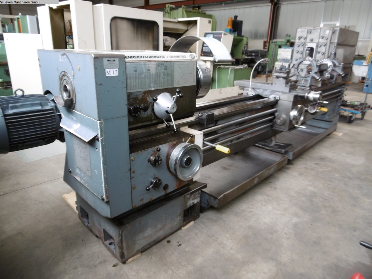 used Center Lathe VDF-HEIDENREICH & HARBECK M 530