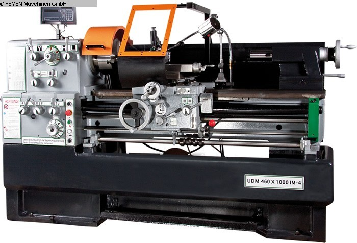 used Mechanician s Lathe HUVEMA HU 460x1000