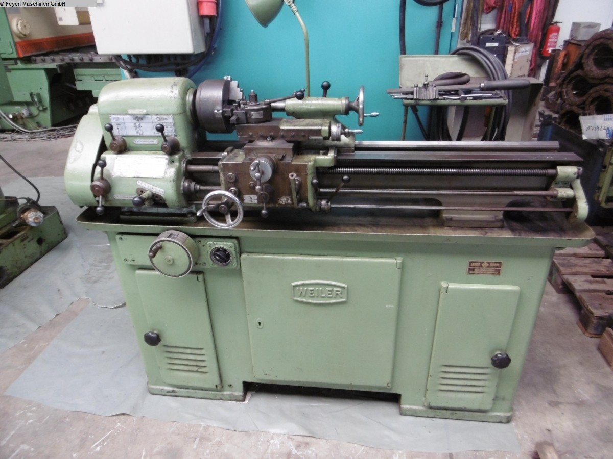 used  Mechanician s Lathe WEILER LZ 280