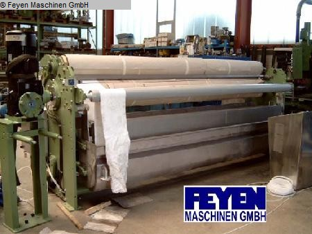 used Padder Finishing Mangle KUESTERS, KREFELD 222.53 / 2800