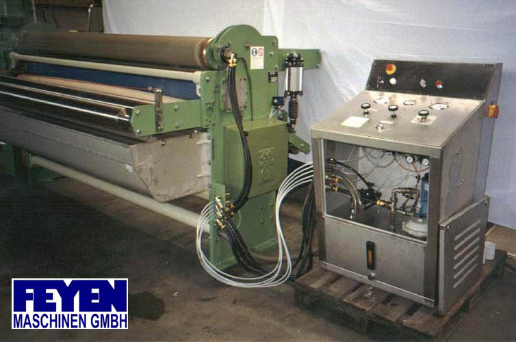 used Padder Finishing Mangle KUESTERS, KREFELD 222.52 / 2000