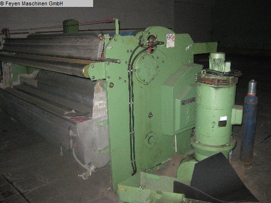 used Padder Finishing Mangle KUESTERS, KREFELD 222.53 / 2600