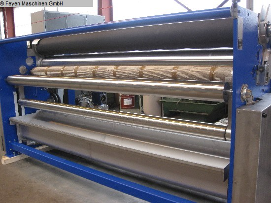 used Padder Finishing Mangle KUESTERS, KREFELD 222.59 / 3000