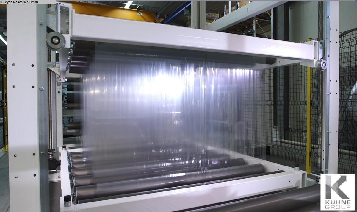 used Finishing machines Roller storage ERHARDT & LEIMER Speicher mit Spindelantrieb