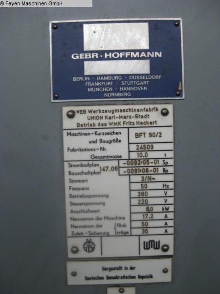 gebrauchte Tischbohrwerk UNION BFT 90 / 2