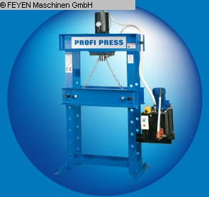 gebruikte persen Tryout Pers - hydraulisch PROFIPRESS 30M / H-2