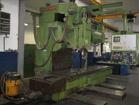 gebrauchte Fräsmaschinen Kopierfräsmaschine - vertikal DROOP & REIN FSM 1004 DA 30 kc N