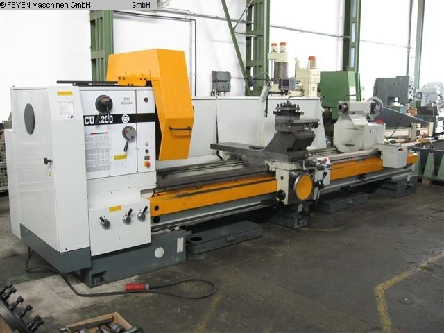 gebrauchte Drehmaschinen Leit- und Zugspindeldrehmaschine BULMAK - ZMM SLIVEN CU 1250 x 4000 VAC